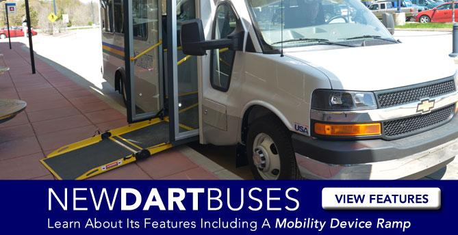 New DART buses