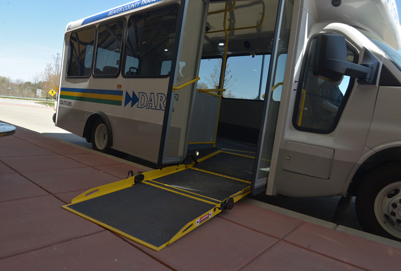 The new ramp deploys quickly
